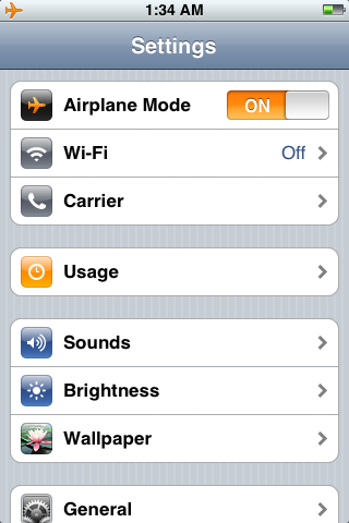 airplane mode iphone top 5 tips for traveling with an iphone iphone in canada 3919