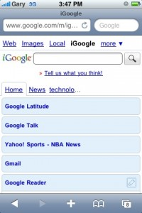 igoogle_iphone