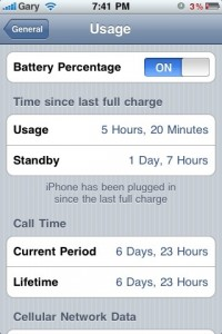 iphone 3g vs 3gs battery