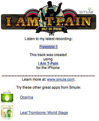 Create Awesome Ringtones, with Smule's