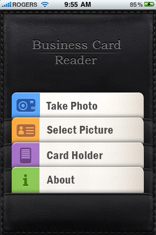 Review business card reader for iphone iphone in canada blog the app also includes a little bonus for linkedin users as contact details can be searched for in the linkedin public directory business card reader reheart Choice Image
