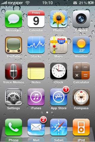 iPhone OS 4 0 Theme, Now in Cydia | iPhone in Canada Blog