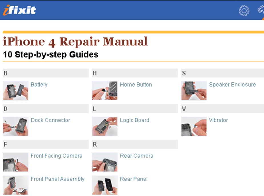 ifixit posts iphone 4 repair manual iphone in canada blog rh iphoneincanada ca iPhone 5 Instruction Manual iphone 4s repair manual pdf