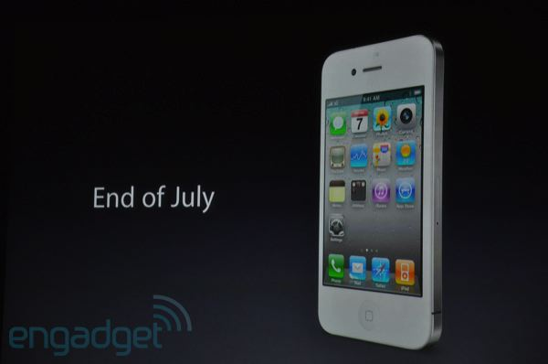 when was the iphone 4 released white iphone 4 release date in canada 19600