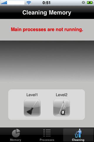 App Screenshot - Memory Status 02