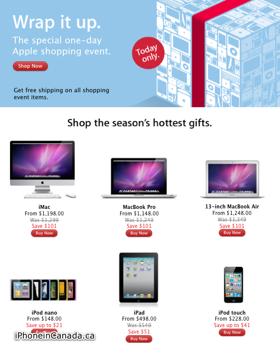 Apple Canada Black Friday Sale Now Live Iphone In Canada Blog