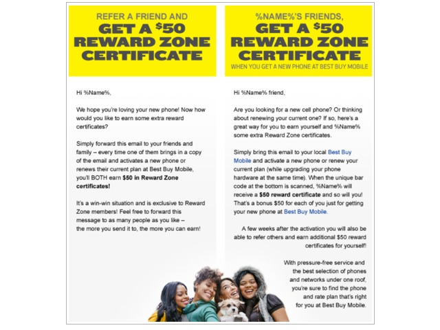 Best Buy Referral Program Gives 100 In Reward Zone Certificates