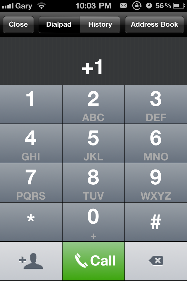 Talkatone VoIP App: Free iPhone Google Talk Voice Calls Over 3G/WiFi