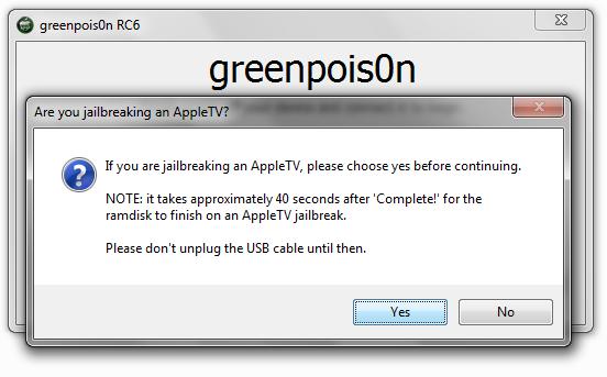greenpois0n apple tv