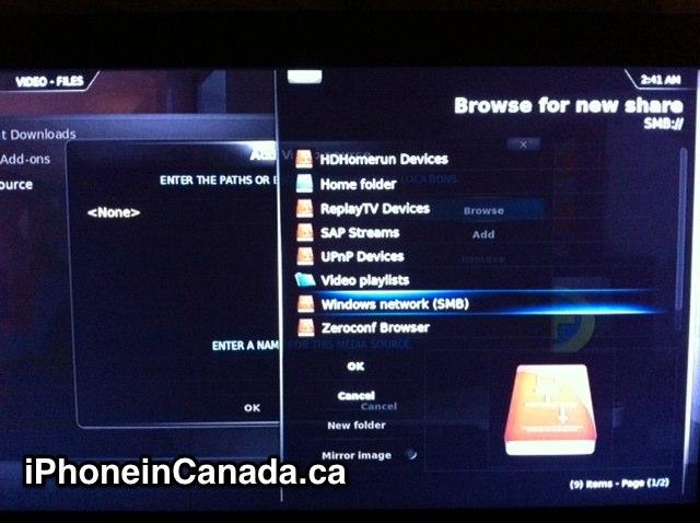 How to Stream AVI Videos from Mac to Apple TV2 via XBMC