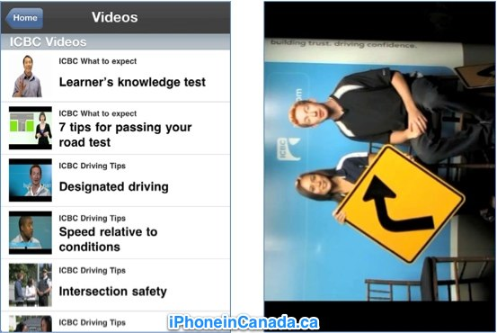 Sneak Peek: ICBC Driver's License Knowledge Test iPhone App