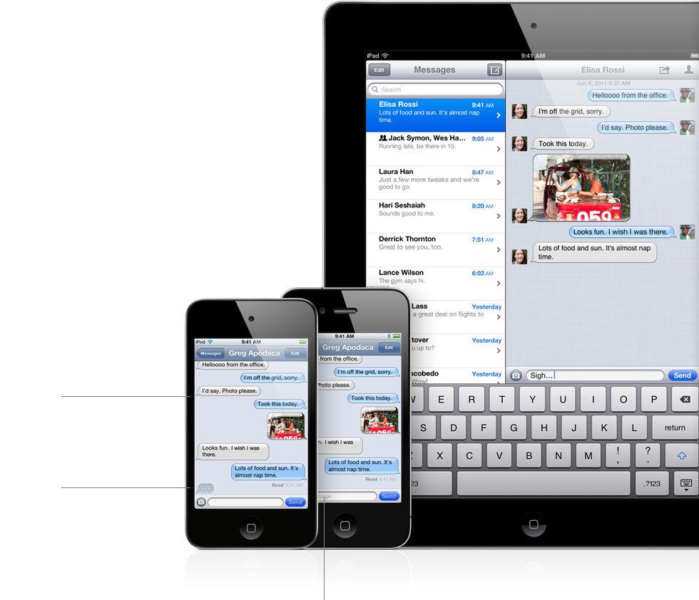 Imessage sms difference