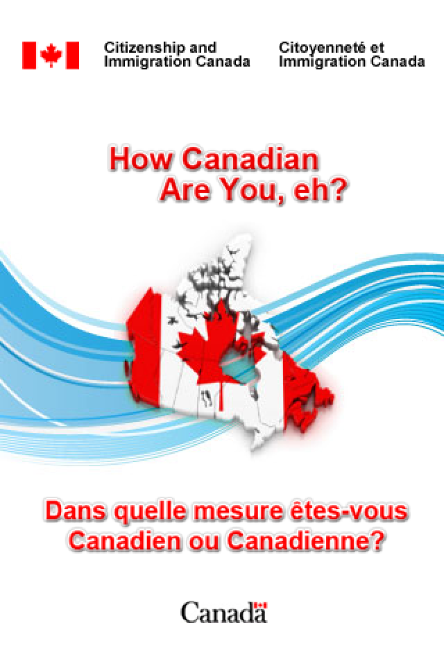 'How Canadian Are You, Eh?' iPhone App by Citizenship and ...