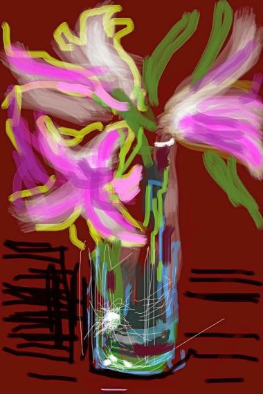 Flower Art Painting