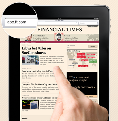 Apple Bans Financial Times App For Violating Subscription