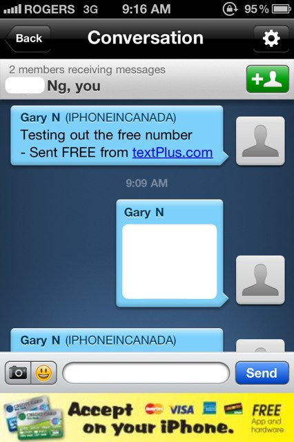 textPlus Update Brings Free Phone Numbers to Canada for
