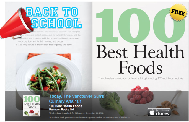 Itunes back to school event free download 100 best health foods itunes back to school event free download 100 best health foods book forumfinder Choice Image