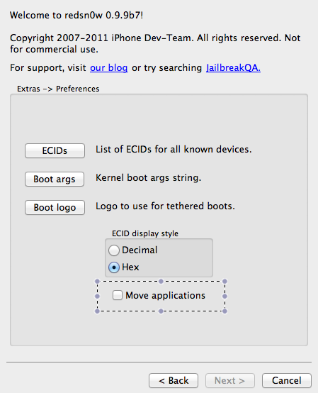 Download Redsn0w 0.9.9b7 Fastest IOS 5 Jailbreak [Windows
