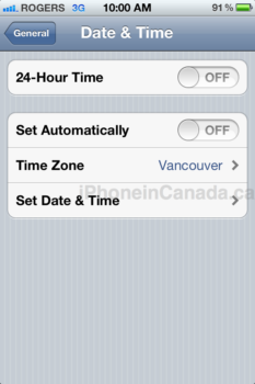 Update] iPhone Daylight Saving Time Bug Shows Different Time Zone ...