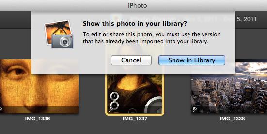 How do i create an album in iphoto