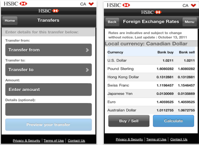 HSBC Canada iPhone App Now Available for Download | iPhone