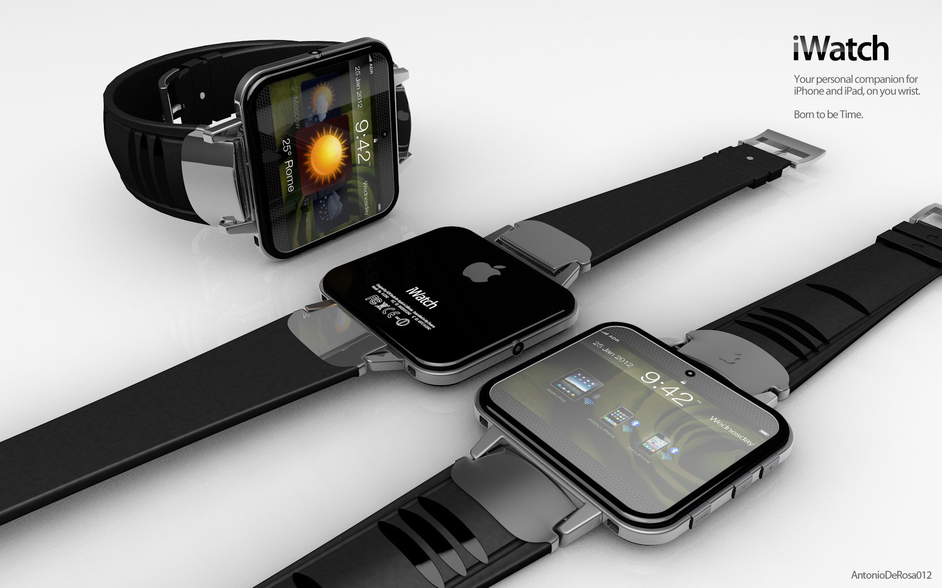 Apple Extends 'iWatch' Trademark Filings to Taiwan, Mexico, Turkey and Colombia