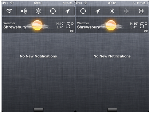 NCSettings Adds Toggles To Notification Center [Free on Cydia
