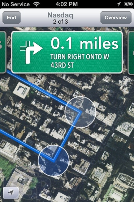 Ios 6 Maps With Turn By Turn Navigation On Iphone 4 Guide Iphone