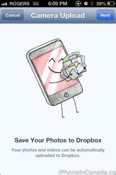 Dropbox Ios App Updated With Automatic Photo And Video