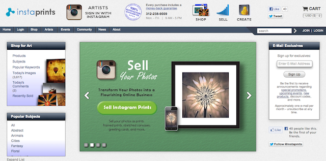 Instagram Photos Can Now Be Sold Online At Instaprints | iPhone in