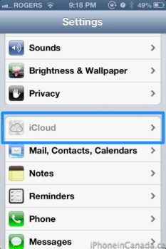 How to Secure your iPhone: Set Restrictions to iCloud and