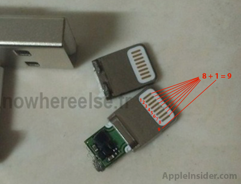 Iphone 5 To Feature Orientation Independent 9 Pin Mini