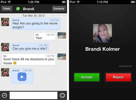 imo IM App Brings Unlimited Free Voice Calling To iPhone