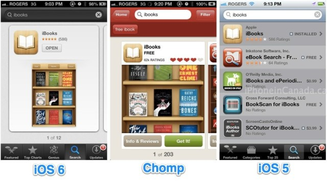 iOS 6 App Store Search Gets New Layout, Genius Now Available
