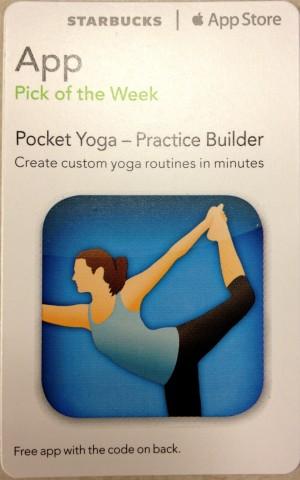Starbucks App Pick of the Week: Pocket Yoga – Practice Builder