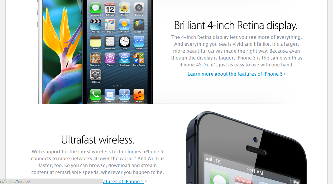 Apple Updates Website With Info On New IPhone And IPods