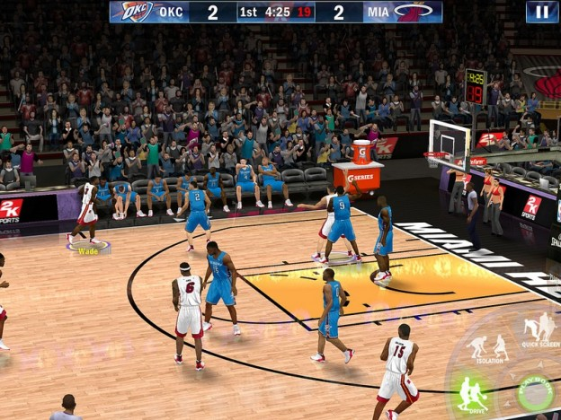 Screen shot from 2K Sports' NBA 2K13