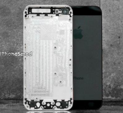 Aftermarket iPhone 5 back panel