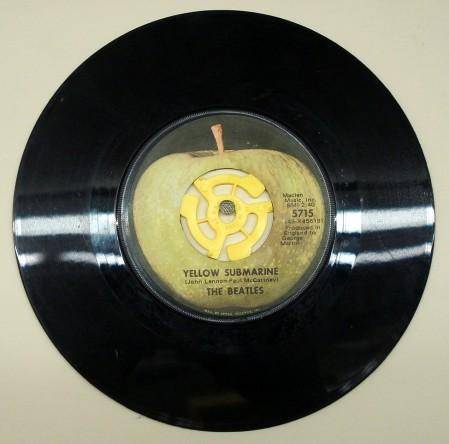 Beatles Vinyl Apple Logo