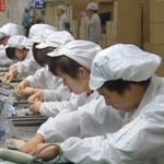 iPhone 5 assembly line Foxconn