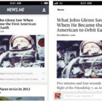 News.me iPhone App