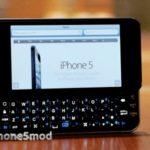 iPhone 5 backlit keyboard