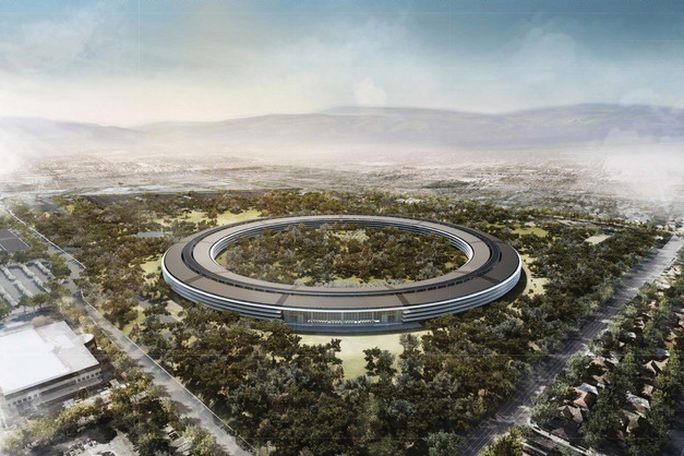 Apple Spaceship-like campus