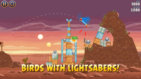 Angry birds star wars2