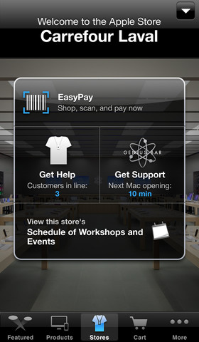Apple store easypay2