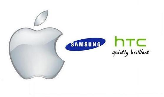 Apple HTC samsung