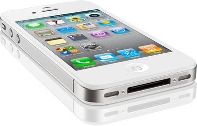IPhone 4 White Flat