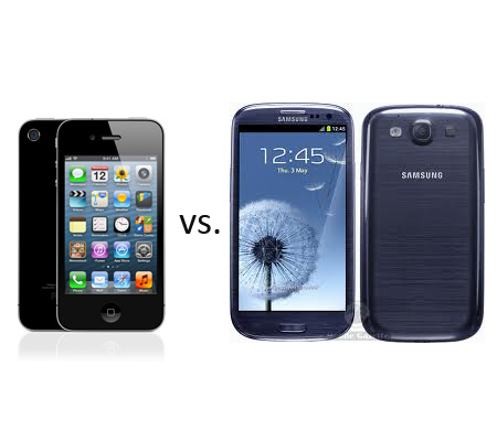 iPhone 4S and Galaxy S3 sales