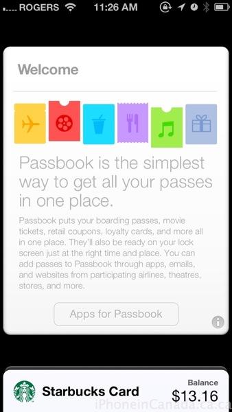 ios 6.1 beta 2 passbook