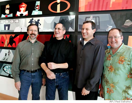 Jobs pixar